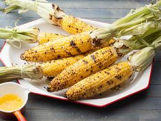 Iowa Grilled Sweet Corn on the Cob from CookingChannelTV.com