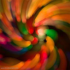 Zoom burst instead of regular movement or spirals.