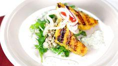 Wolfgang Puck's Tandoori Salmon Salad: Part 1