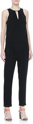 Rag and Bone Lana Sleeveless Drop-Waist Jumpsuit on shopstyle.com