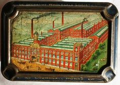 Cooperative Wholesale Society CWS biscuit tin 1905 by Tinternet