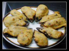 Cocina conmigo: Mejillones Rellenos. Cooking Stuffed Mussels (English sub)