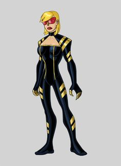 Redesign of DC's Black Canary Black Canary Redesign Superhero Villains, Team Arrow, Black Canary, Captain Marvel, His Eyes, Leotards, New Look, Dc Comics, Cool Designs