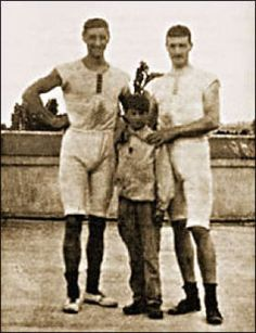 Dimitrios Loundras, center, at the 1896 Olympics, a Greek gymnast won a bronze at the age of 10 years and 218 days. 1896 Olympics, History Of Olympics, Olympic Winners, Olympic Athletes, Summer Dream, Summer Olympics, Rowing, Olympians, Female Athletes