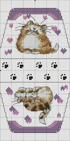 crochet and embroidery bags cross stitch kits Cat Cross Stitches, Cross Stitch Needles, Cross Stitch Kits, Cross Stitch Charts, Cross Stitching, Cross Stitch Embroidery, Embroidery Patterns, Cross Stitch Patterns, Embroidery Bags
