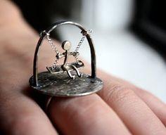 Кольцо - Качельки. Читать в нашем блоге