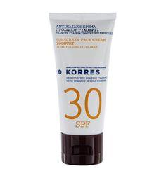 KORRES Yoghurt Light Texture Sunscreen Face Cream Sensitive Skin for sale online Rosé Hair, Crema Solar, Anti Ride, Sun Care, Light Texture, Natural Cosmetics, Face Care, Sensitive Skin, Bath And Body