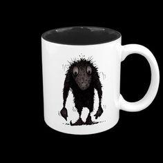 Troll Mug by Paul Stickland for StrangeStore on Zazzle.