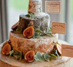 Wedding cake cheese with figs # tiered cheesecake wedding #  savoury wedding cake