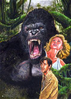 King Kong by patjanus.deviantart.com on @DeviantArt