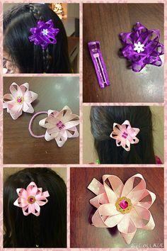 DIY hair clips