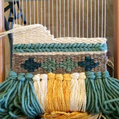 I love texture in weaving.Tapestry Weaving with April Rhodes — ktmade