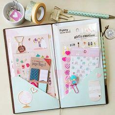 carladetaboada: Folder ~ Made this folder for my #midori this morning