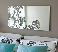 Retro Wall Mirror Design | Home Constructions