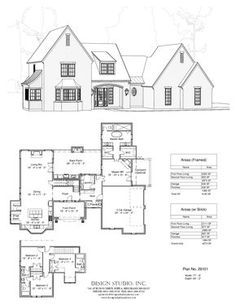 Love this floorplan! Would change exterior to have more farmhouse feel. Add porches.