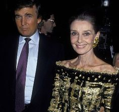 Audrey and Donald Trump at Casita Maria Fiesta, October 1992