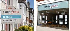 Daniel James - Sign and Shop front