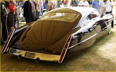 Cadzzilla is a custom hot rod car built by custom car builder and legend Boyd Coddington and designed by Larry Ericson. This amazing and yet classic car is based on a 1948 Cadillac Series 62 Sedanette and was buit or built for rocker Billy Gibbons of ZZ Top. www.amcarguide.co...