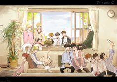 Seventeen Wallpaper Kpop, Seventeen Wallpapers, K Pop, Astro Sanha, Day6 Sungjin, Cute Love Wallpapers, Carat Seventeen, Kpop Fanart, Boy Art
