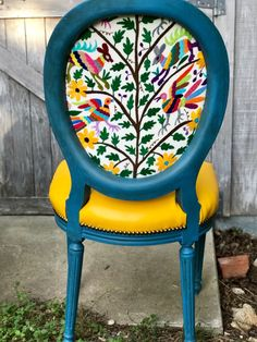 Otomi Chairs Brighten Up a Family's New Home - Chair Whimsy