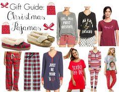 Gift Guide: Christmas Pajamas