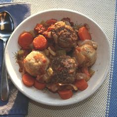 Passover Supper: Meatball Matzo Ball Stew | Flamingo Musings