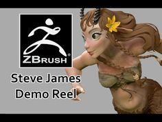 Zbrush Demo Reel - YouTube