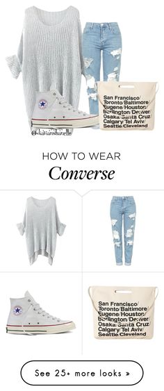 """Inspired By Nao Yoshikawa In ""Good Morning Call"""" by diavianshanelle on Polyvore featuring Topshop, Converse, Chicnova Fashion and cute"