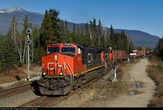 RailPictures.Net Photo: CN 2648 Canadian National Railway GE C44-9W (Dash 9-44CW) at Blue River, British Columbia, Canada by Tim Stevens