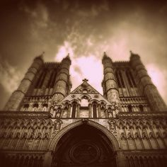 """Donald Drew once told me, """"You have not lived unless you have been in Lincoln Cathedral when the organist is playing."""" Next time in England, I am going!!!"""
