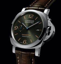 *Blog Update - Read iN!* #Panerai 44mm Luminor Marina Platinumtech™⌚️ Green Dial with Blued Hands🌴 Limited Edition of Only 70 Pieces!!🎉