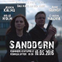 Premiere am 10.Mai! Noch einige Karten übrig!! #premiere #movie #movienight #pictureoftheday #claudiamagira #actress #acting #moviemaking #sanddorn #crime #tatort #braunschweig #filmmaking #mai2016 by claudia.magira