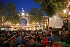 I so want to do this-Movies in The Park