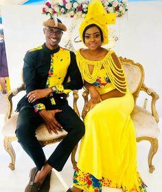 African Traditional Wear, African Traditional Wedding Dress, Traditional Wedding Cakes, Latest African Fashion Dresses, African Print Fashion, African Prints, African Bridesmaid Dresses, African Wedding Attire, Tsonga Traditional Dresses