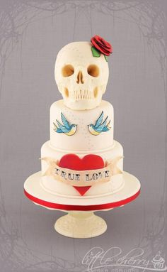 Rockabilly: 7 perfect ideas for your wedding cake