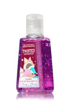 Twisted Peppermint PocketBac Sanitizing Hand Gel - Soap/Sanitizer - Bath & Body Works