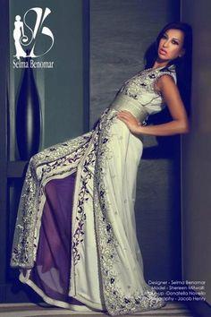 Selma Benomar, Abaya, bisht, kaftan, caftan, jalabiya, Muslim Dress, glamourous middle eastern attire, takchita