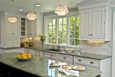 Merveilleux Green Granite Kitchen, Green Countertops, Gray Granite, Granite Tile,