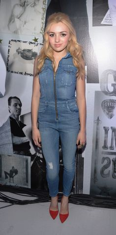 Peyton List at the GUESS Celebrates New York Fashion Week: On the Road to Nashville party