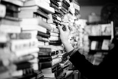 If I ever disappear, I'm probably lost in a bookstore. Don't look for me right away.