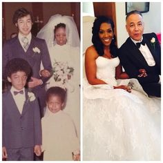 After 40 years of marriage, this couple look even better, they renew their vows. Mixed Couples, Black Couples, Cute Couples, Black Love, Black Is Beautiful, Cute Relationships, Relationship Goals, Marriage Goals, Couple Goals