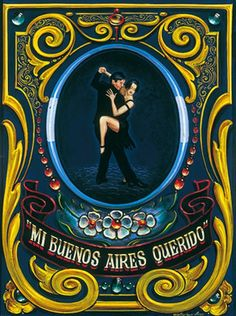 Cool Posters, Travel Posters, Tango Art, Kiss And Romance, Deco Paint, Pinstriping Designs, Argentine Tango, Arte Popular, Naive Art
