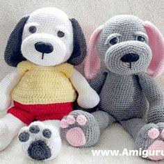 Easy Stitch, Amigurumi Toys, Christmas Tree Ornaments, Teddy Bear, Knitting, Crochet, Creative, Baby, Animals