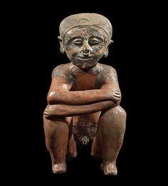 The Merrin Gallery - Chinesco  Crouching Figure