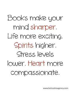books, spirit, heart