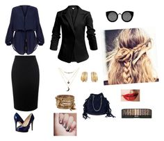 """"""""""" by ceceandjessie ❤ liked on Polyvore featuring ViX, Alexander McQueen, GUESS, Charlotte Russe, de Grisogono, ALDO and Quay"""