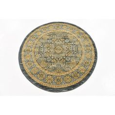 Unique Loom Palace Brown Area Rug Rug Size: