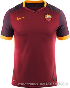 AS Roma Nike 15/16 Home Kit