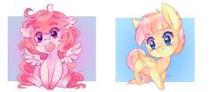 chibi pony batch 1 by pekou.deviantart.com on @DeviantArt