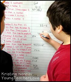 Young Teacher Love: A Quick Check Formative Assessment Idea